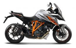 2017 KTM 1290 SUPER DUKE GT gray