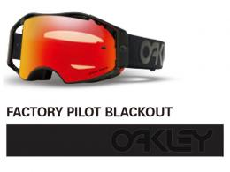 OAKLEY オークリー AIRBRAKE MX FACTORY PILOT BLACKOUT