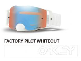 OAKLEY オークリー FRONT LINE MX FACTORY PILOT WHITEOUT