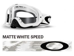 OAKLEY オークリー CROWBAR MX MATTE WHITE SPEED