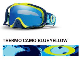 OAKLEY オークリー CROWBAR MX THERMO CAMO BLUE YELLOW